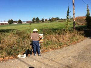 Painting Hadley Farm