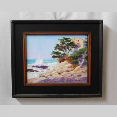 Pacific_Edge, 11x14, framed trimmed