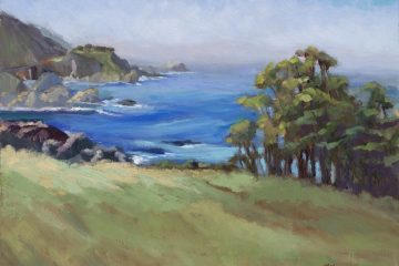 Big Sur Blues, 14x18
