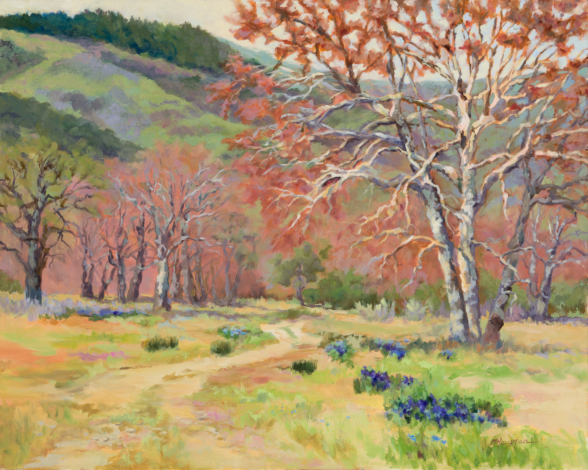 Breath of Spring, oil, 24x30