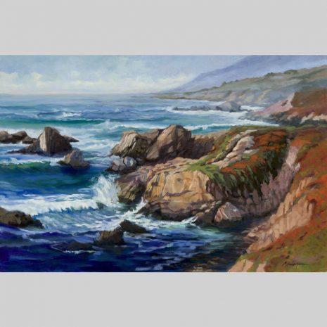 Dynamic Coast, image detail