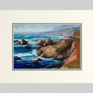 Dynamic Coast, sage green inner mat