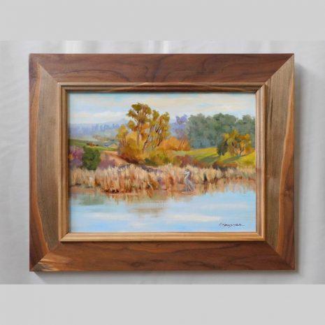 Light on the Slough, 12x16, framed