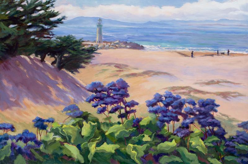 Sea Lavender, oil, 24x36