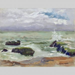 Luminescent Sea, 11x14, oil