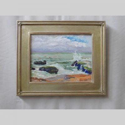 Luminesscent Sea, 11x14, framed