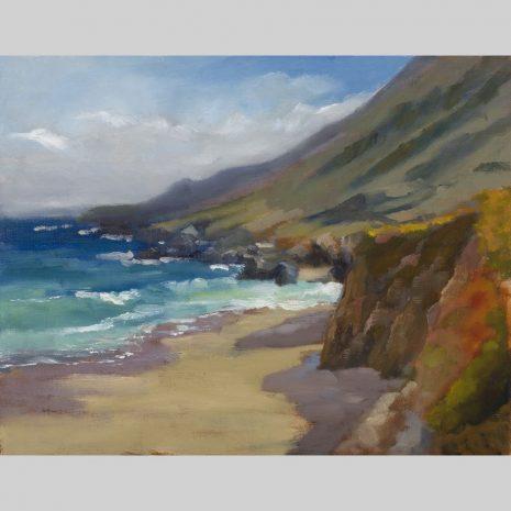 Morning Shadows Big Sur, 11x14, giclee print