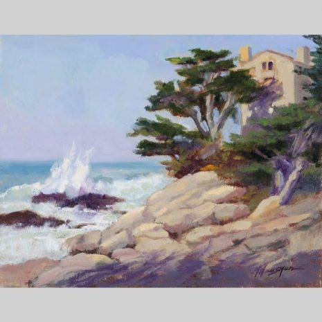Pacific Edge, 11x14, oil