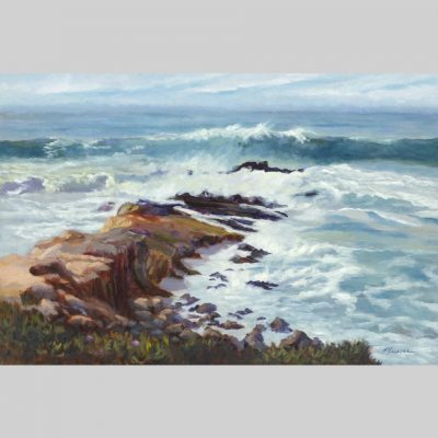 Wave Action, 24x36