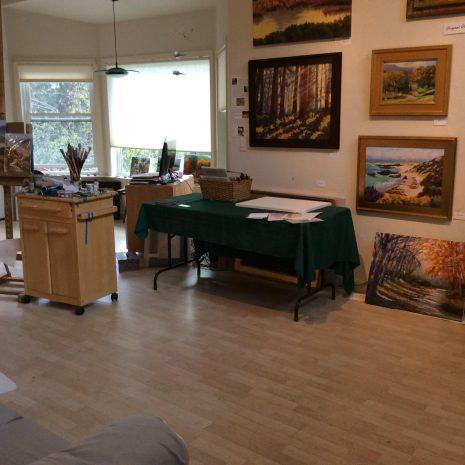 Hausman Studio, interior view