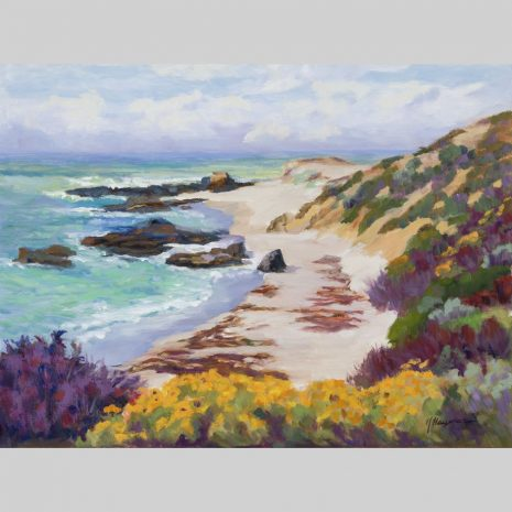 Forbidden Beach, 18x24, oil