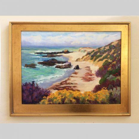 Forbidden Beach, 18x24, framed