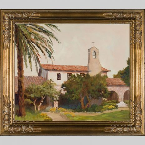 Capistrano, Mission, 22x26, framed