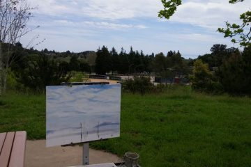 Painting Clouds in Soquel