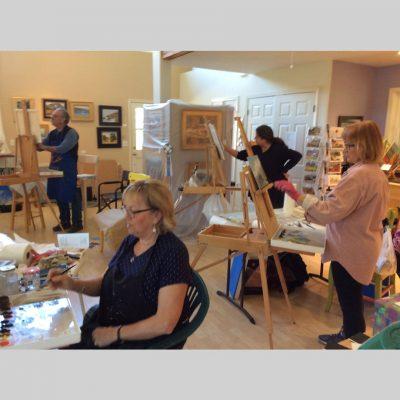 Class at Hausman Studio