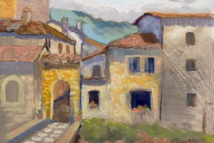 Castle Village, 9x12