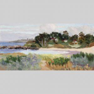 Beach Crescent 8x16