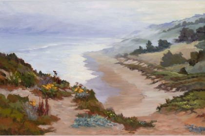 Coastal Muse, 24x36