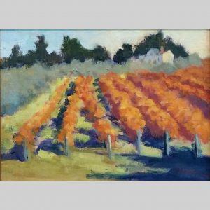 Hillside Vineyard, 9x12