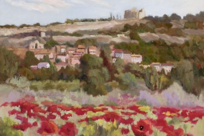 Provence Poppies, 18x24