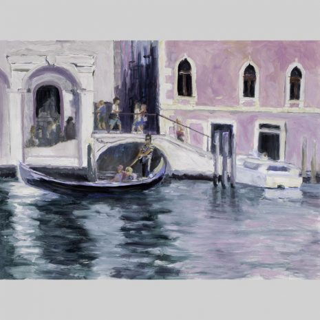Gondola Ride 18x24