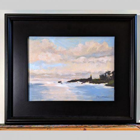 Harbor Guardian 9x12 black frame