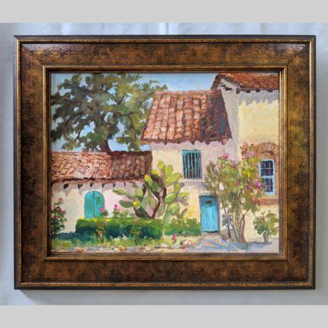 Mission Summer 16x20 varigated browns frame
