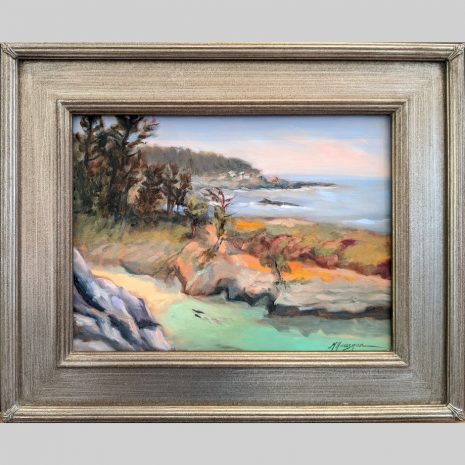 Point Lobos Spring 12x16 antique silver frame