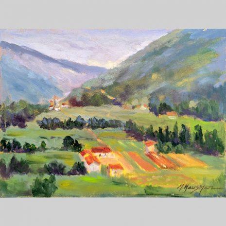 Tuscan Farmland 9x12