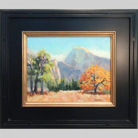 Black Oak Gold 11x14 black w gold frame