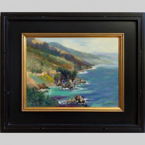 Big Sur Big View 12x16 1030 BnG frame