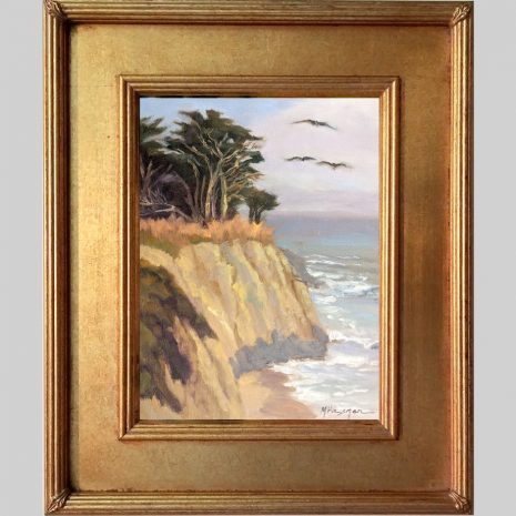 Cruising the Coast 12x9 SD 629G gold frame