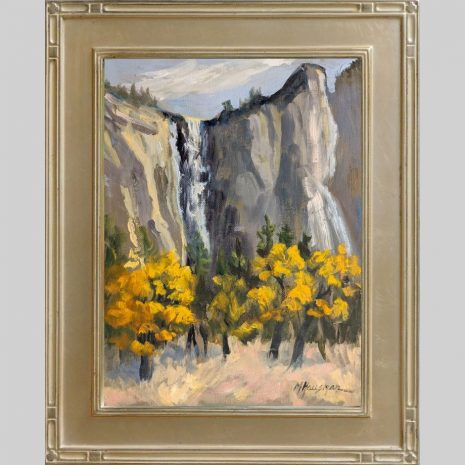 Fall Color Yosemite 12x9 Omega 2inch silver frame
