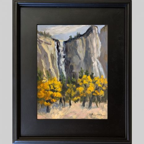 Fall Colors Yosemite 12x9 3PB black frame