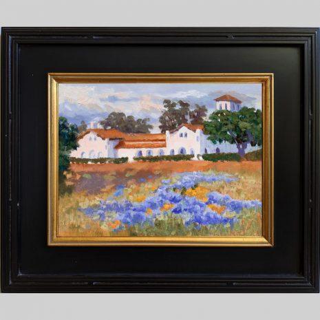 Hacienda Lupine 12x16 1030 BnG frame
