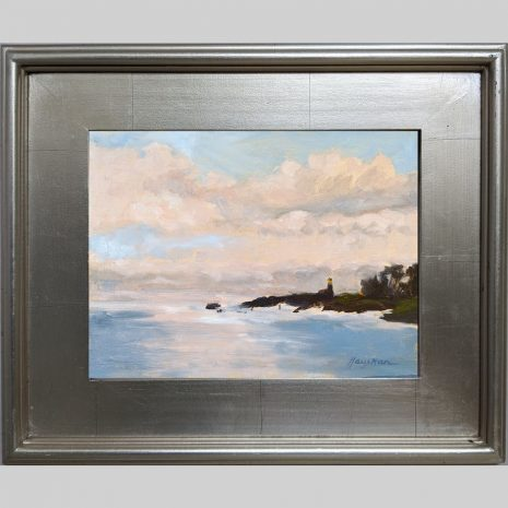 Harbor Guardian 9x12 3PS silver frame