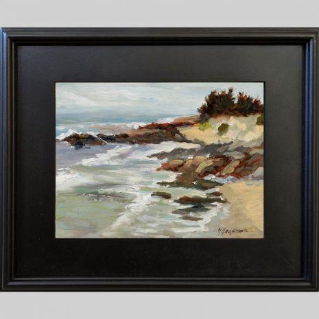 Rocky Beach 9x12 3PB black frame