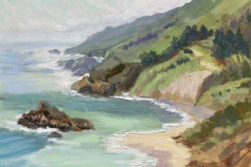 Sea Spring, oil, 11x14