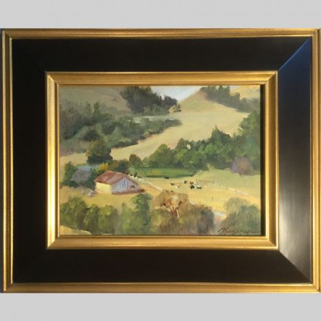 La_Honda_Ranch-9x12-framed
