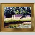 Painted Pony, 16x20, oil. PG3 frame