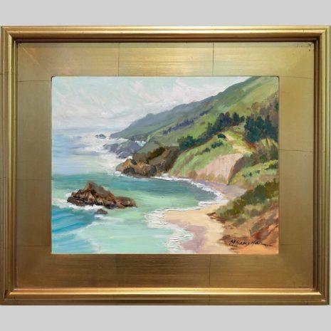 Sea Spring11x14 3PG gold frame