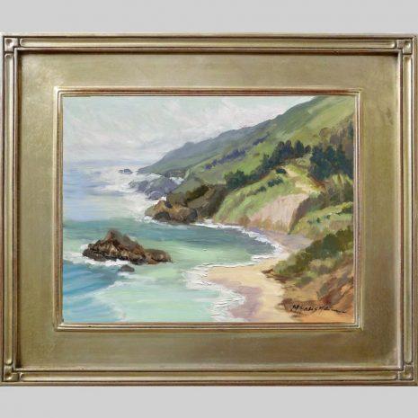 Sea Spring11x14 silver Omega 40 frame