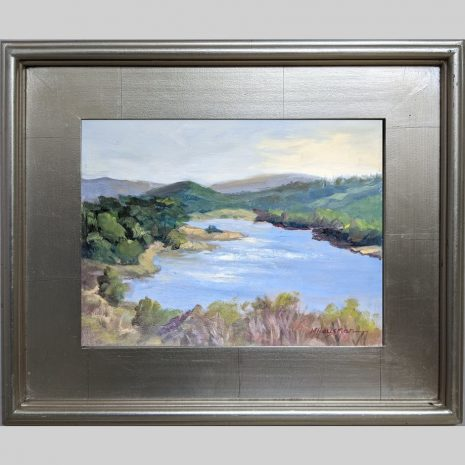 Crystal Springs, 9x12, oil, 3PS silver