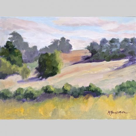 Morning Meadow, 9x12, oil