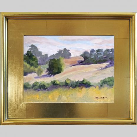 Morning Meadow 9x12 3PG gold