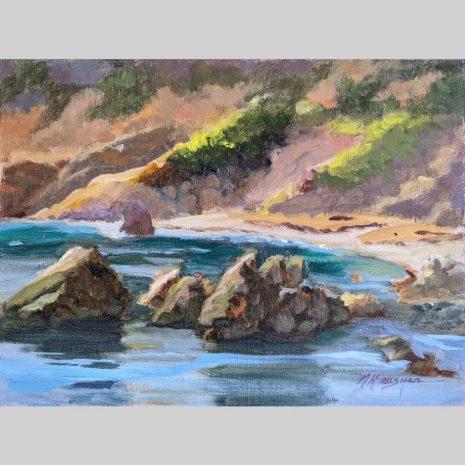 Quiet Cove, 9x12, oil