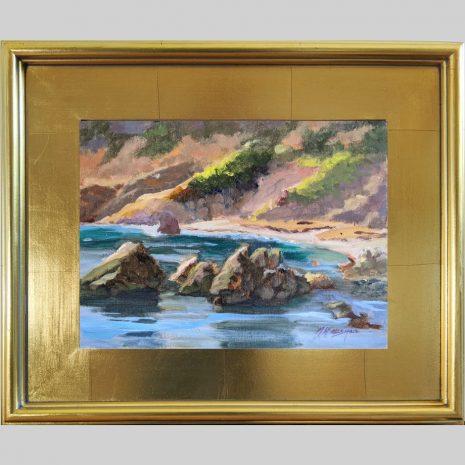 Quiet Cove 9x12 3PG gold