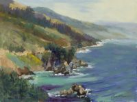 Big Sur Big View, 12x16